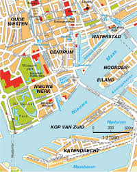 map rotterdam zuid holland netherlands maps and directions at