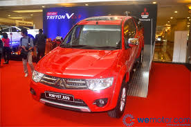 mitsubishi triton 2014 launch facelifted 2014 mitsubishi triton starting rm82 185 70