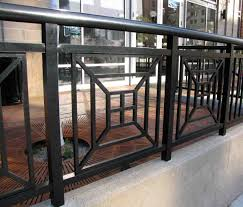 metal banister ideas steel grill design for front porch balcony with glass 2018 and