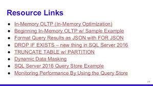 Sql Server Drop Table If Exists by Technology Enhancements For Sql Server 2014 2016 Developers