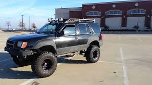 2000 nissan frontier lifted xterra lifted on 35s youtube