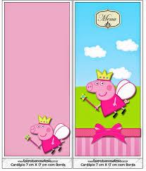 peppa pig hada imprimibles imágenes y fondos gratis para fiestas