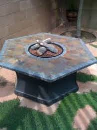 slate fire pit table fire pit with slate table for sale propane or natural gas