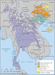 India Language Map by Geographic Distribution Of Tai Kadai Language Family 1171x1600