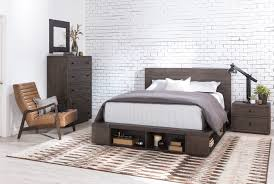 Dylan Queen Platform Bed Living Spaces