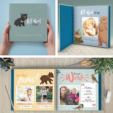 baby 1st year book year baby memory book baby journal modern