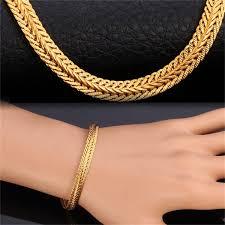 gold bracelet chain styles images Gold bracelet rock punk style thick snake chain bracelet men jpg