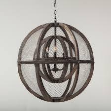 how to make a birdcage chandelier lighting u2014 home trends u0026 design