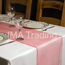 cheap coral table runners coral organza table runner