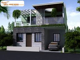 modern duplex house elevations