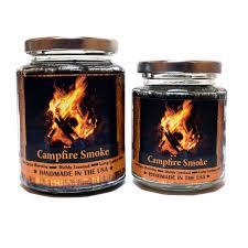 amazon com campfire smoke wood wick candle 8 oz super scented