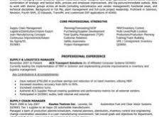 Resume For Logistics Executive Interesting Logistics Manager Resume 11 Senior Logistic Management
