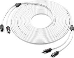 jl audio marine rca patch cables 25 feet 2 channel marine audio