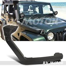 jeep yj snorkel jeep wrangler jk 3 8l cold air intake with snorkel