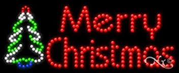 led merry christmas light sign amazon com 11x27x1 inches merry christmas animated flashing led
