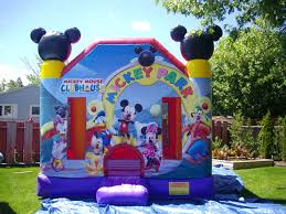 mickey mouse clubhouse bounce house beam bouncy castles bounce house rentals and slides for