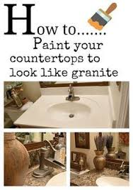 How To Paint Faux Granite - six dollar kitchen countertop transformation contact paper
