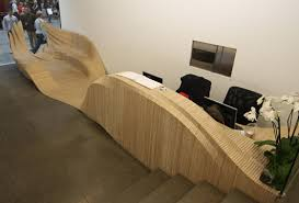 Flat Pack Reception Desk Cnc Routing Reception Desk Created And Designed By Amr Assid Of