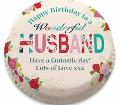 personalised birthday cakes husband birthday cake personalised birthday cakes for your husband