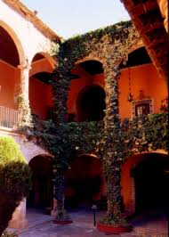 home designs exquisite hacienda home courtyards baldoa home