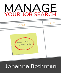 Manage Manage Your Job Search By Johanna Rothman The Pragmatic Bookshelf