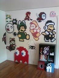 wall art decor ideas space bomb devian pixel wall art classic