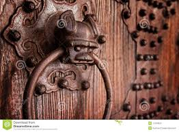 antique chinese door knocker royalty free stock images image