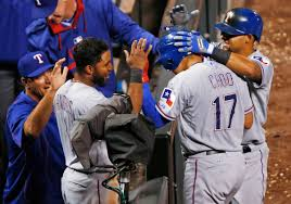 Jeff Banister Choo Hits For The Cycle As Rangers Rout Rockies 9 0 Naples Herald