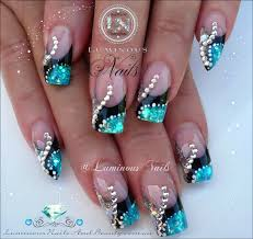 light blue and silver acrylic nails u2013 new super photo nail care blog