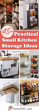 kitchen pantry storage cabinet ideas 45 best small kitchen storage organization ideas and