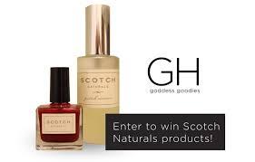 scotch naturals nail polish goddess huntress