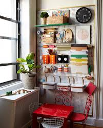 Kids Craft Center - over 30 ways to organize with a peg board a and a glue gun
