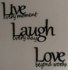 live laugh love wall decor walmart haus dekorationideen