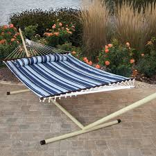 15 Ft Hammock Stand Island Bay 13 Ft Xl Double Hammock With Metal Stand U0026 Pillow