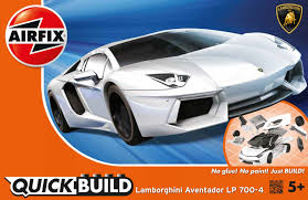 future lamborghini flying airfix j6019 airfix quick build lamborghini aventador white
