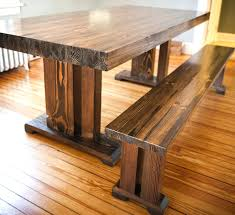 dining table reclaimed trestle table modern dining dining