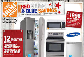 home depot samsung microwave black friday home depot ad deals for 6 20 6 26 red white u0026 blue savings