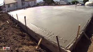 concrete cement workers laying house foundation arizona youtube