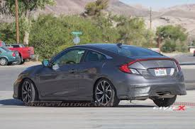 honda civic 2017 interior 2017 honda civic si coupe first sighting page 21 2016 honda