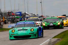 porsche gt3 racing series le mans series rd 8 baltimore usa four porsche 911 gt3
