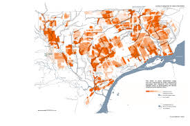 Detroit In World Map by Map Ecological Urban Intervention Zones Detroitography