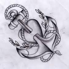 57 cute anchor heart tattoos
