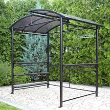 Bbq Grill Gazebo Home Depot by Ideas Stunning Brown Lowes Gazebos With Light Steam Brown Canopy