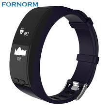 heart rate tracker bracelet images Smart bracelet alarm clock heart rate monitor fitness tracker jpg