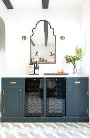 glass door buffet cabinet navy blue buffet cabinets with aged