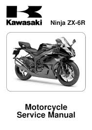 2009 kawasaki zx600r ninja zx 6r service repair manual