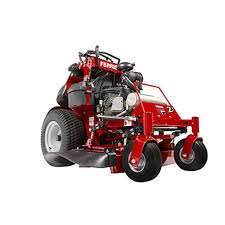 srs stand on commercial lawn mower ferris