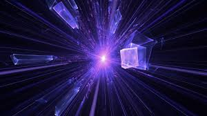 animated light rays purple motion background videoblocks