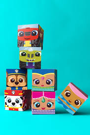 nick jr block party printable craft nickelodeon parents