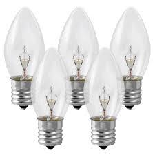 c9 clear twinkling replacement bulb 10 watt